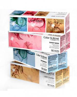 Набор с индивидуальными ароматами для добавления в краситель микс Revlon Professional RVL Color Sublime MIX 3 BOOST Момент Дзен, Сладость Гурмэ, Настроение Заката 24х1мл: фото