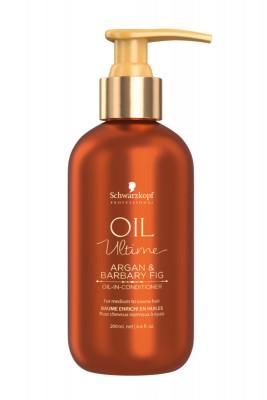 Кондиционер для жестких и средних волос Schwarzkopf Professional Oil Ultime Oil-in-Conditioner 200мл: фото