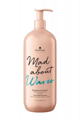 Кондиционер для нормальных и жестких волос Schwarzkopf Professional Mad About Waves Windswept Conditioner 1000мл: фото