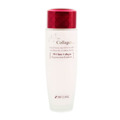 Эмульсия восстанавливающая с коллагеном 3W Clinic Collagen Regeneration Emulsion 150 мл: фото