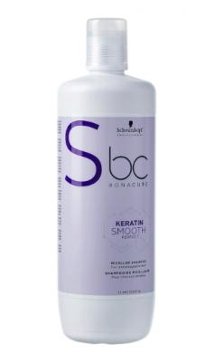 Шампунь мицеллярный кератиновый Schwarzkopf Professional BC Keratin Smooth Perfect 1000 мл: фото