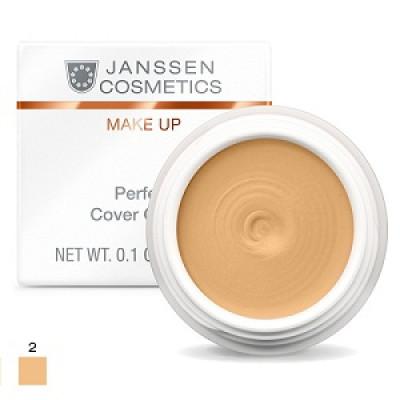 Тональный крем-камуфляж Janssen Cosmetics Perfect Cover Cream тон02 5мл: фото