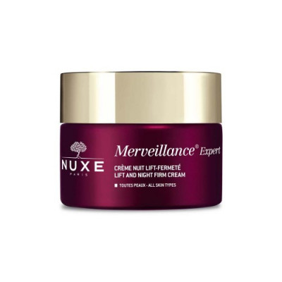 Крем-лифтинг ночной укрепляющий Nuxe Merveillance expert 50 мл: фото