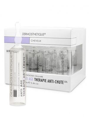 Клеточно-активный интенсивный уход против выпадения и истончения волос в ампулах La Biosthetique Therapie Anti-Chute Plus 30шт: фото
