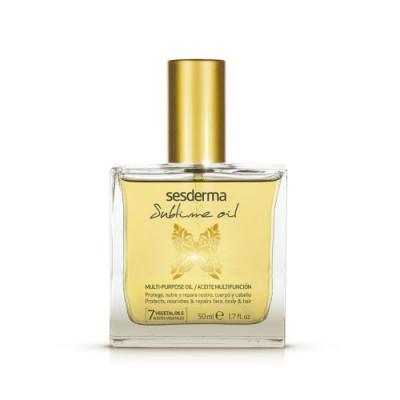 Масло для лица, тела и волос питательное и восстанавливающее Sesderma SUBLIME OIL Multi-Purpose oil 50мл: фото