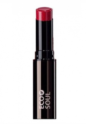 Помада увлажняющая сияющая THE SAEM Eco Soul Moisture Shine Lipstick RD03 Daehagno red 5,5г: фото