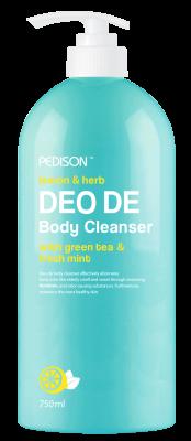 Гель для душа ЛИМОН и МЯТА EVAS Pedison DEO DE Body Cleanser 750 мл: фото