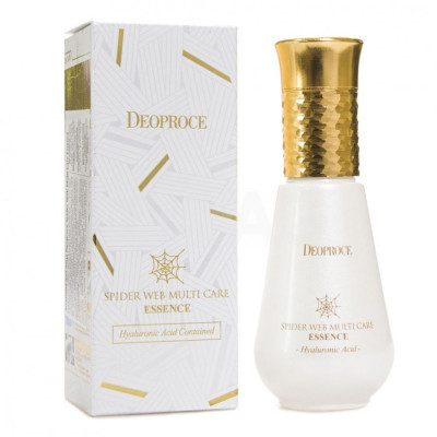 Эссенция с протеинами паутины DEOPROCE SPIDER WEB Multi-care Essence 50мл: фото