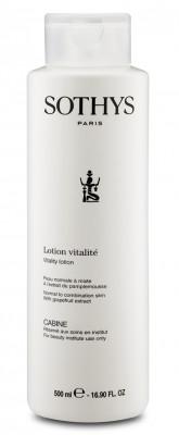 Тоник для нормальной и комбинированной кожи с экстрактом грейпфрута Sothys Vitality Lotion 500 мл: фото
