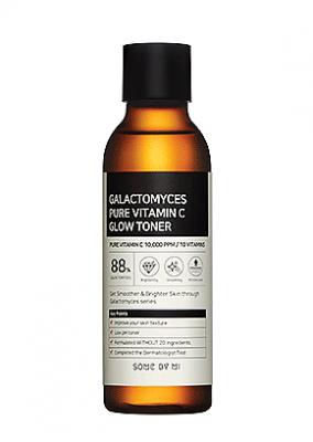 Тонер для лица ферментированный SOME BY MI Galactomyces Pure Vitamin C Glow Toner 200мл: фото