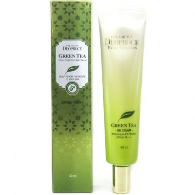 BB-крем DEOPROCE PREMIUM GREENTEA TOTAL SOLUTION BB CREAM SPF50+PA+++ 40мл: фото