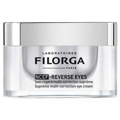 Крем для контура глаз идеальный мультикорректирующий Filorga NCEF-Reverse Eyes 15мл: фото
