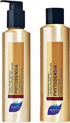 Набор Phytosolba Phytodensia Duo Kit: шампунь 50мл + маска 50мл: фото