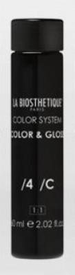 Тонирующий гель без аммиака La Biosthetique Color & Gloss №4 Медный 60мл*3: фото