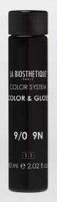 Тонирующий гель без аммиака La Biosthetique Color & Gloss №9/0 Очень светлый блондин 60мл*3: фото