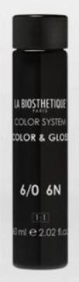 Тонирующий гель без аммиака La Biosthetique Color & Gloss №6/0 Темный блондин 60мл*3: фото