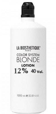 Окислительная эмульсия La Biosthetique BLONDE LOTION 12% 1000мл: фото