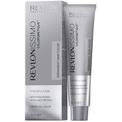 Краска перманентная Revlon Professional Revlonissimo Colorsmetique 7.13 Блондин Пепельно-Золотистый 60мл: фото