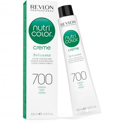 Краска для волос без аммиака Revlon Professional Nutri Color Creme 700 зеленый 100мл: фото