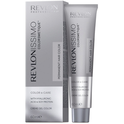 Краска перманентная Revlon Professional Revlonissimo Colorsmetique 8.31 Светлый Блондин Золотисто-Пепельный 60мл: фото