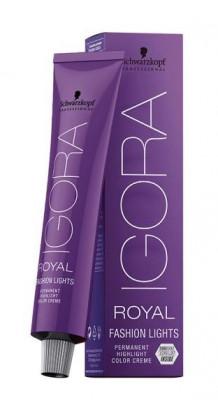 Крем-краска для цветного мелирования Schwarzkopf professional Igora Royal Fashion Light L-77 медный экстра 60мл: фото