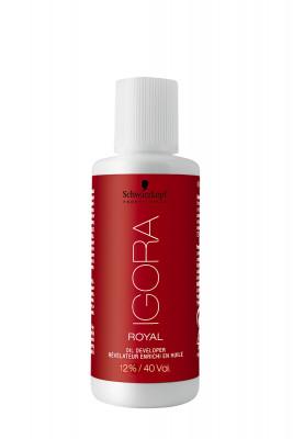 Лосьон-окислитель на масляной основе 12% Schwarzkopf Professional Igora Royal 60 мл: фото