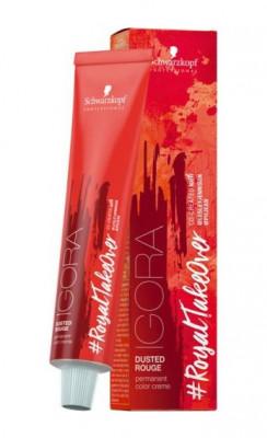 Крем-краска Schwarzkopf professional Igora Royal Take Over Dusted Rouge 7-982 Средний русый фиолетовый красно-пепельный 60 мл: фото