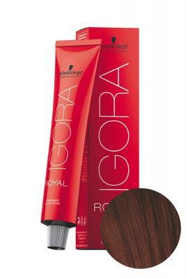 Крем-краска перманентная Schwarzkopf professional Igora Royal 4-88 Средний коричневый красный экстра 60 мл: фото