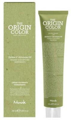 Краска для волос NOOK Origin Color Cream 6.3 Золотистый Темный Блондин 100 мл: фото