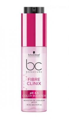 Бустер защита цвета для окрашенных волос Schwarzkopf professional Bonacure Fibre Clinix pH 4.5 Color Freeze 45мл: фото