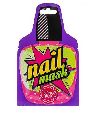 Маска для ногтей с маслом ши BLING POP SHEA BUTTER HEALING NAIL PACK: фото