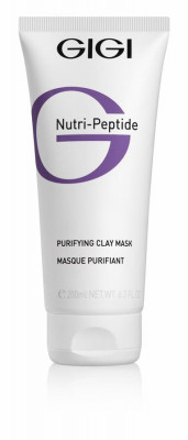 Маска пептидная очищающая глиняная для жирной кожи GIGI Nutri-Peptide 200мл: фото