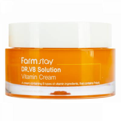 Крем с витаминами FarmStay Dr-V8 Solution Vitamin Cream 50мл: фото