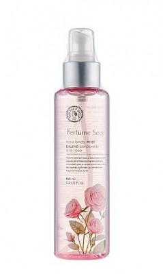Мист для тела с экстрактом шиповника The Face Shop Perfume Seed Rosу Body Mist 155 мл: фото