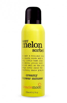 Мусс для душа дынный сорбет Treaclemoon Happy Melon Sorbet Shower Mousse 200 мл: фото