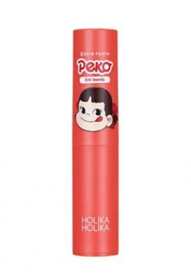 Тинт для губ увлажняющий Holika Holika Peko Jjang Water Drop Tint Bomb 03 инжир 2,5г: фото