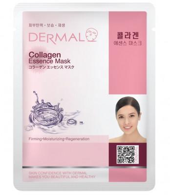 Тканевая маска коллаген Dermal Collagen Essence Mask 23 мл: фото