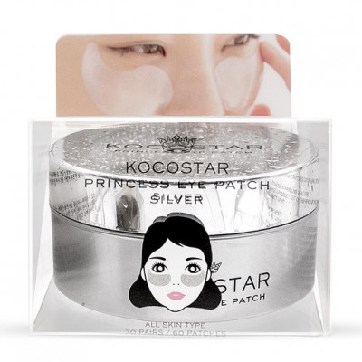 Патчи для глаз гидрогелевые с коллоидным серебром Kocostar 60 шт: фото