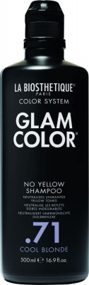 Шампунь против желтизны La Biosthetique Glam Color No Yellow Shampoo .71 Cool Blonde 500 мл: фото
