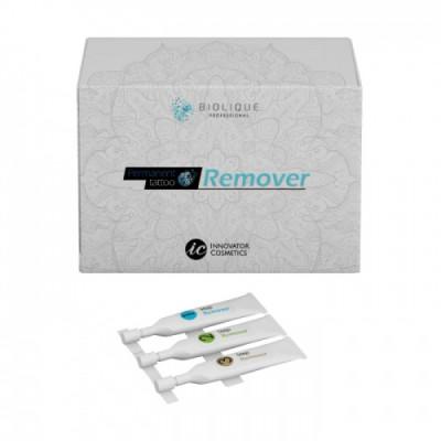 Набор трехкомпонентный Био-ремувер BIOLIQUE PROFESSIONAL Permanent Tattoo Remover: фото