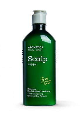 Кондиционер уплотняющий для тонких волос с розмарином AROMATICA  Rosemary Hair Thickening Conditioner 250мл: фото