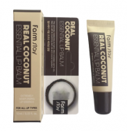 Бальзам для губ с экстрактом кокоса FarmStay Real Coconut Essential Lip Balm 10мл: фото