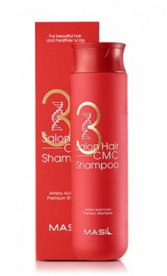 Шампунь с керамидами MASIL 3 SALON HAIR CMC SHAMPOO 300мл: фото