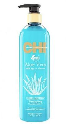 Кондиционер для облегчения расчесывания CHI Aloe Vera with Agave Nectar 710 мл: фото