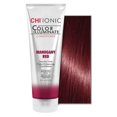 Кондиционер оттеночный CHI Ionic Color Illuminate Conditioner Mahogany Red Красный махагон, 251 мл: фото