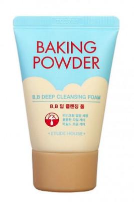 Пенка для глубокого очищения кожи ETUDE HOUSE BAKING POWDER BB DEEP CLEANSING FOAM 30мл: фото