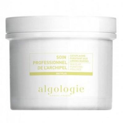 Очищающая маска-компресс с морской глиной для жирной кожи Algologie 140г: фото