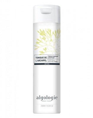 Очищающий матирующий тоник для жирной и смешанной кожи Algologie 200мл: фото
