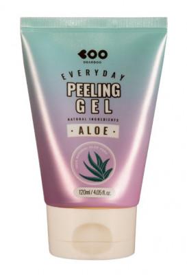 Гель для глубокого очищения кожи с алоэ DEARBOO Aloe Everyday Peeling Gel 120 мл: фото