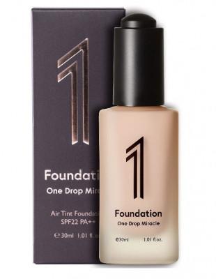 Тональная основа для лица 1 Foundation One Drop Miracle Air Tint оттенок #P21: фото